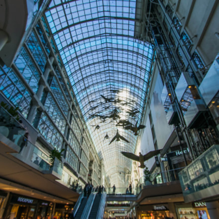 Eatons Centre, Sony ILCE-7, Canon EF-S 10-22mm f/3.5-4.5 USM