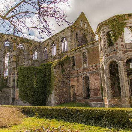 Abbaye d'Aulne panorama