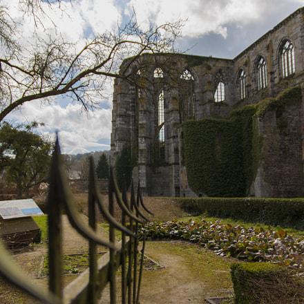 Abbaye d'Aulne panorama barrière