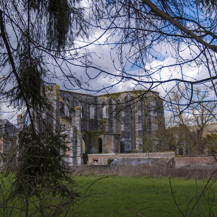 Abbaye d'Aulne panorama cadrage