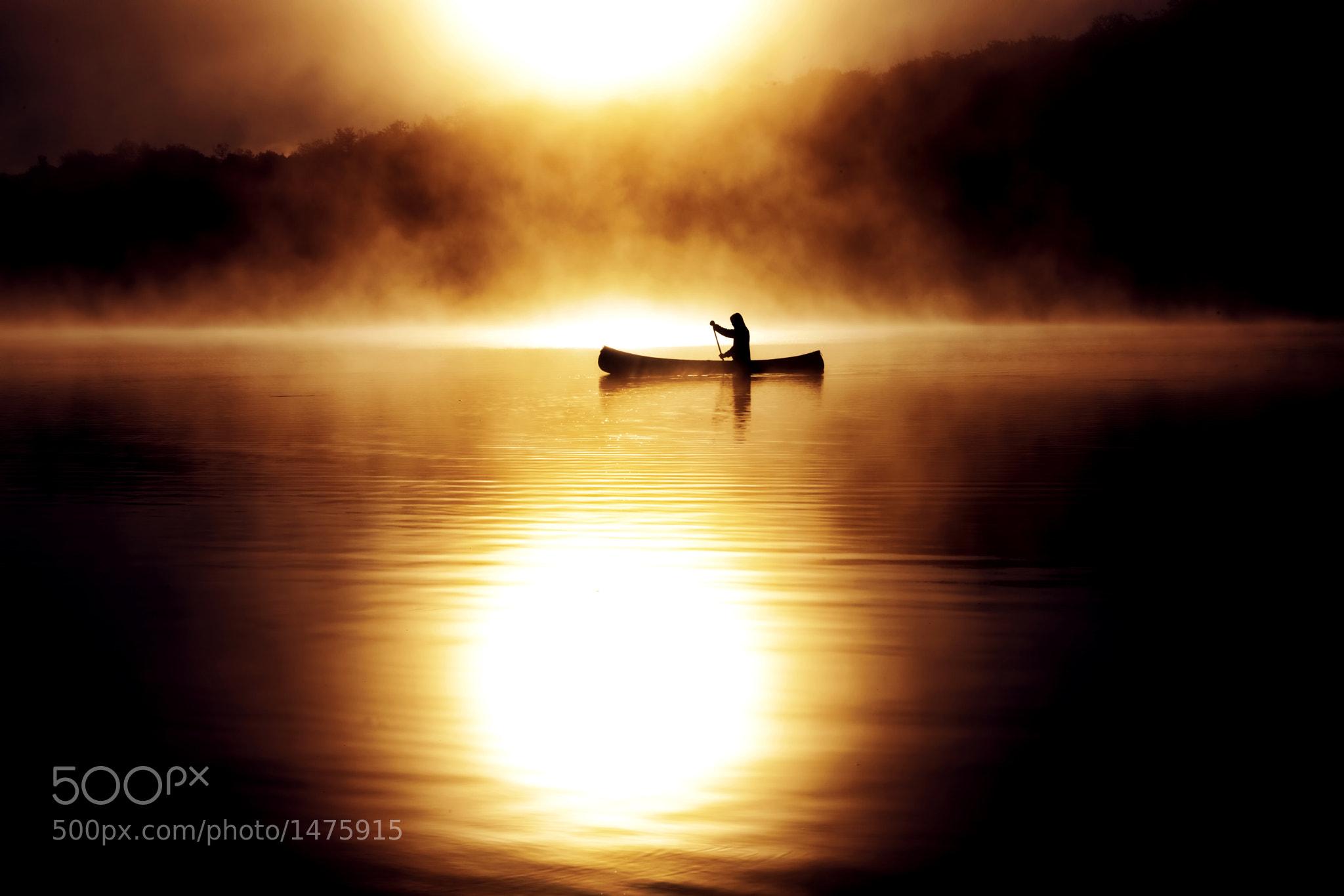 Photograph Burning Canoe by Robin B. Powell on 500px