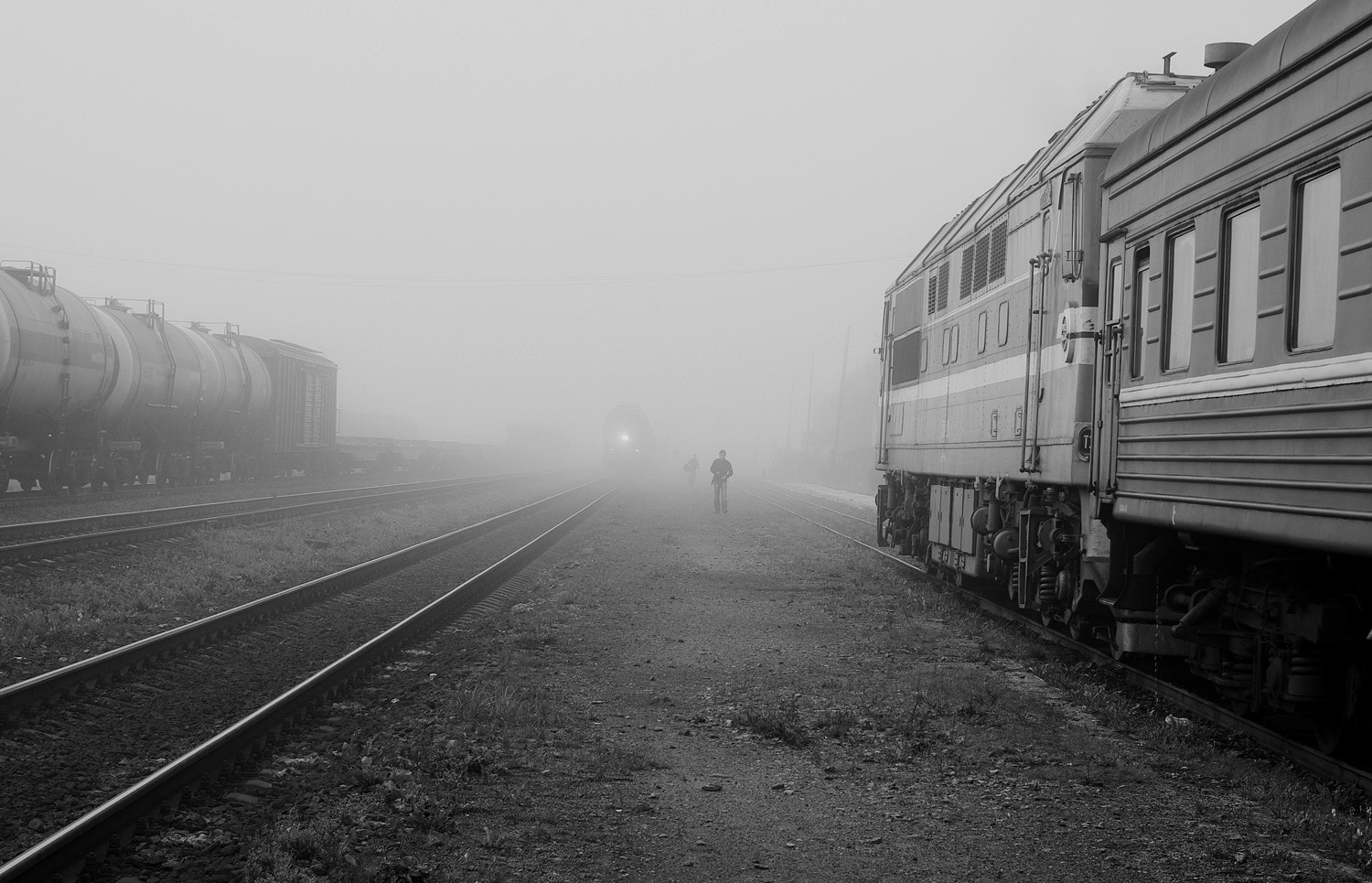 Photograph arrival of the train by Vladimir Trenin on 500px