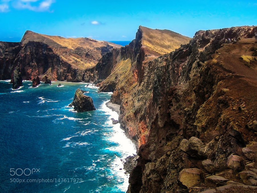 Volcanic mountains of Madeira