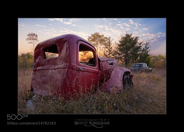Photograph Junky Sunset by Scott Kroeker on 500px