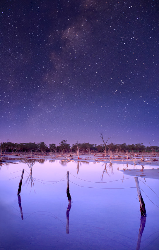 Photograph Outback Night Sky by William Ophuis on 500px