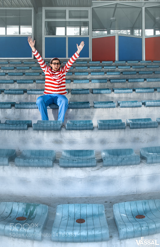 Photograph WALDO IS AT THE STADIUM by Emmanuel VASSAL on 500px