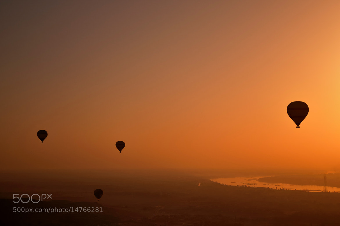 Photograph Ballooning Over the Nile by Phil Royal / Depthoffieldimages.co.uk on 500px