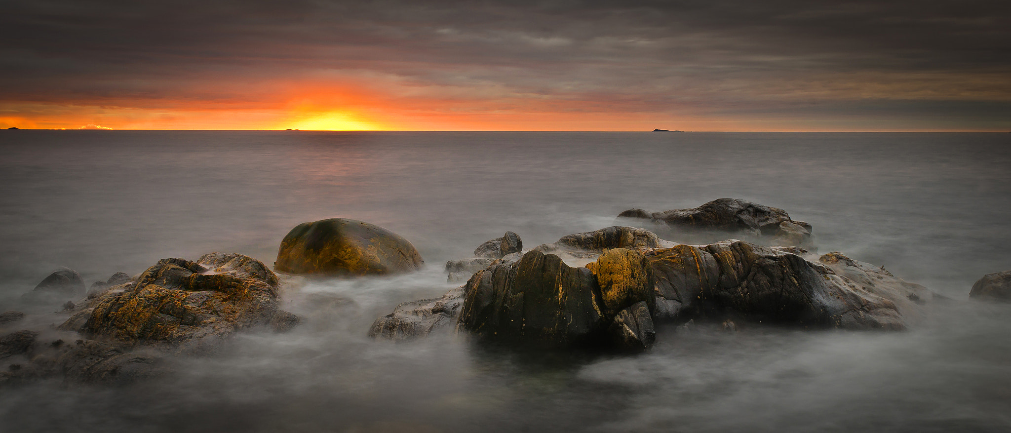 Photograph Sunset at the coast. by Geir Magne  Sætre on 500px