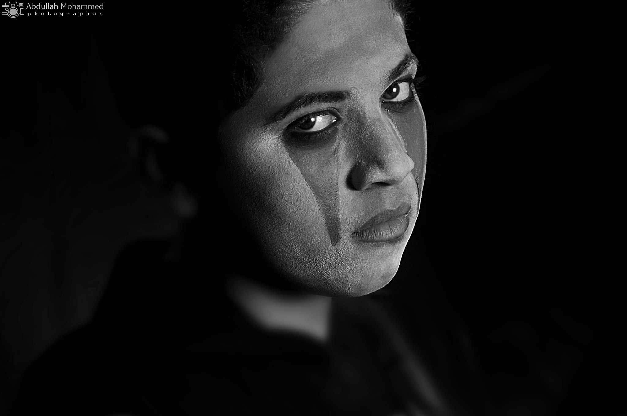 Photograph B&W Angry glances by abdullah mohammed on 500px