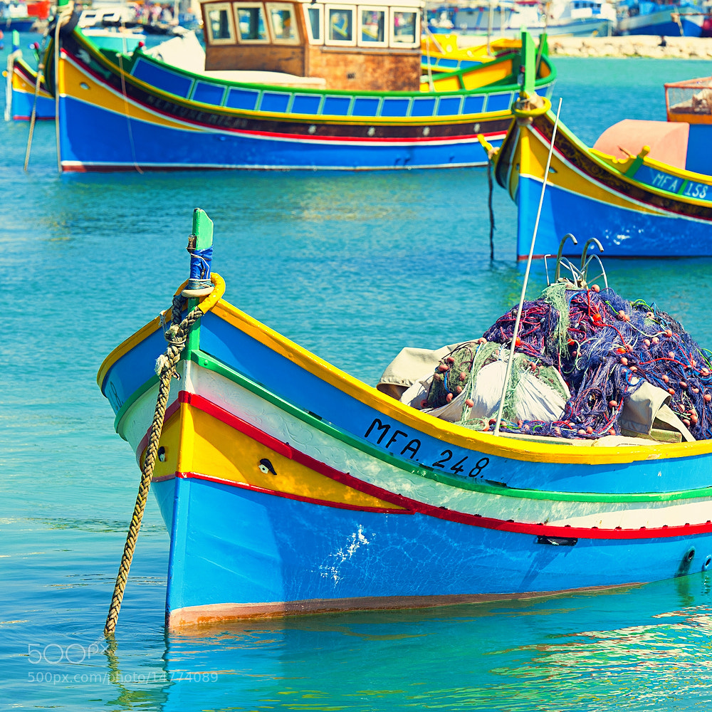 Photograph Marsaxlokk Malta by Allard Schager on 500px