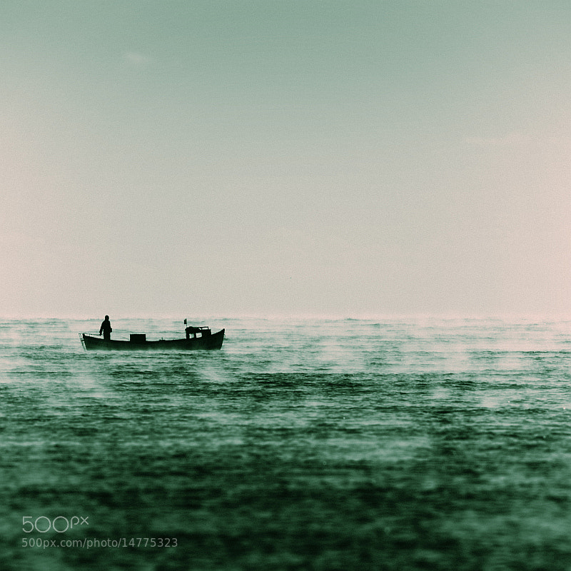 Photograph man and the sea by Vladimir Perfanov on 500px