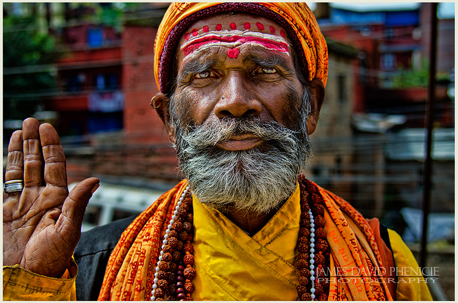 Faces of Nepal:   Hello