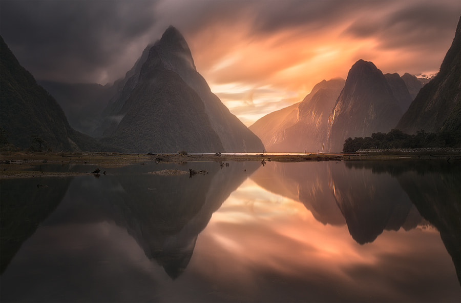Ray of Light Through Milford Sound by Jimmy Mcintyre on 500px.com