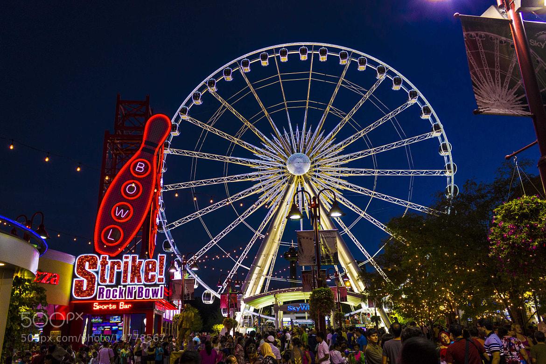 Photograph Ferris Wheel by John Velocci on 500px