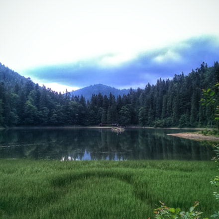 Synevir lake. Ukraine