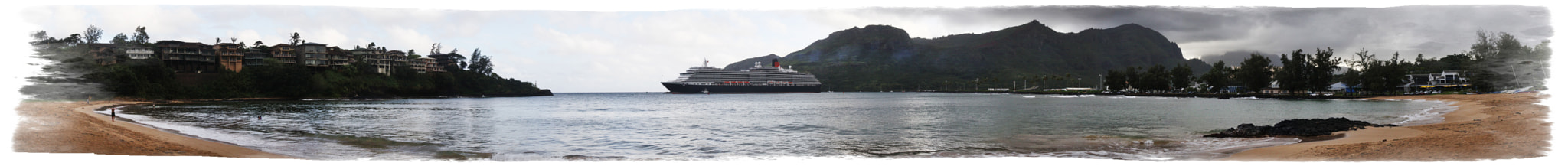 Photograph Queen Victoria leaving Harbor by Mark Hughes on 500px