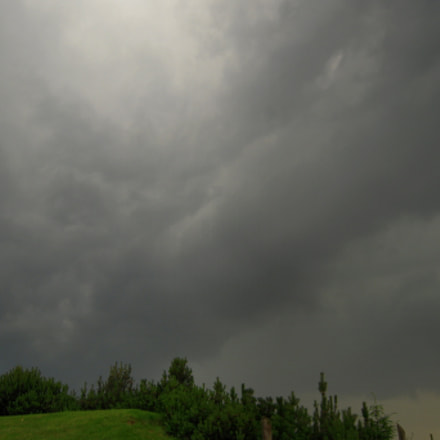 Storm clouds, Nikon COOLPIX S610c