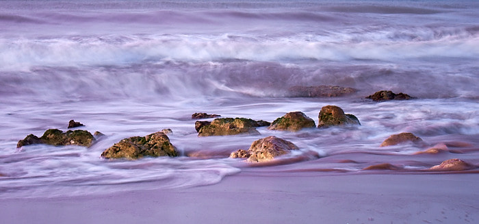 Photograph Last light, last waves by Neil Dolman on 500px