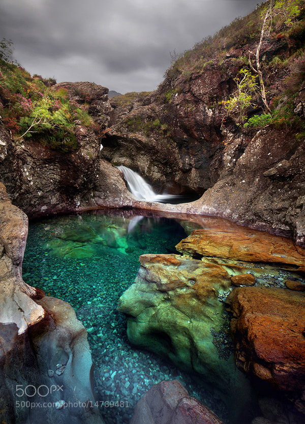 Photograph Scotland - The Magic Pool by Kilian Schönberger on 500px