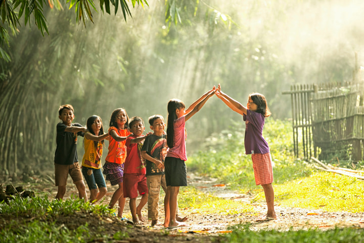 Photograph Playing with Friends by Henky Tjahja on 500px