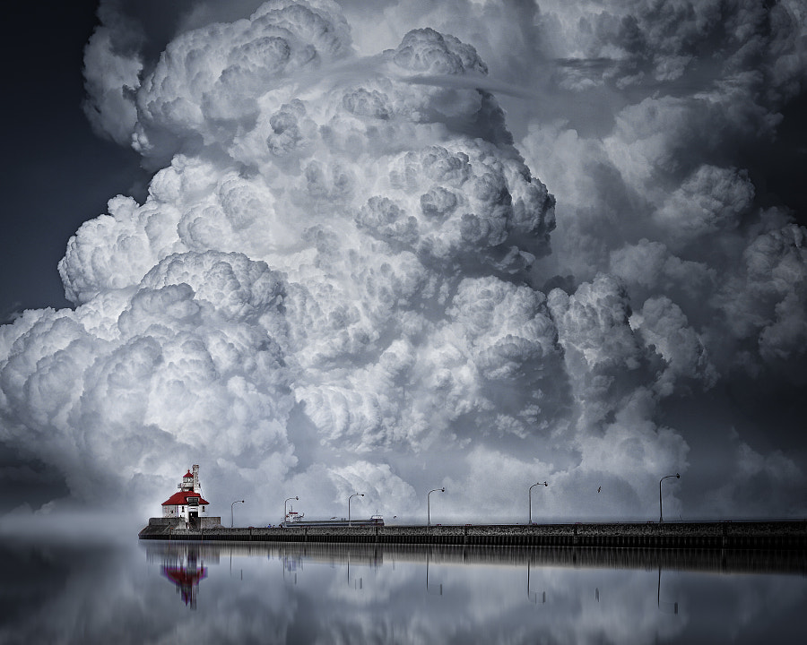 A Cloudy Day in Canal Park, Duluth by Like_He on 500px.com