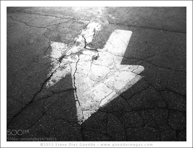 Photograph Double Arrows, Los Angeles 2012 by Steve Diet Goedde on 500px