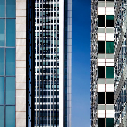 Docklands Office Abstract, Canon EOS 300D DIGITAL, EF-S18-55mm f/3.5-5.6