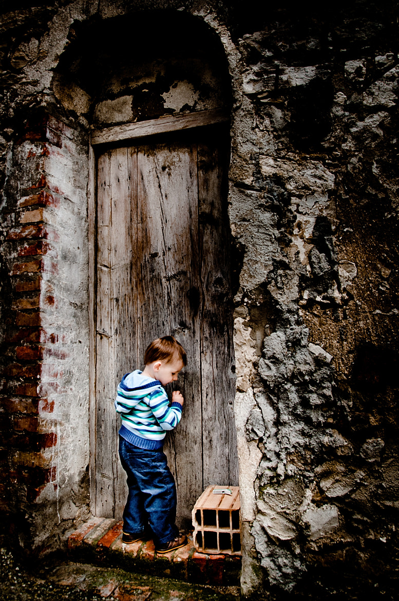 Photograph The door by T B on 500px
