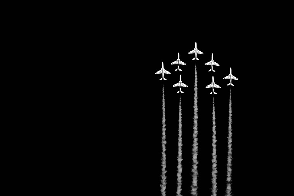 Photograph Red Arrows in action by Petr Koval on 500px