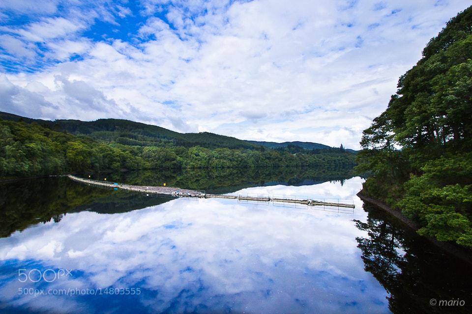 Photograph Highlands lake by Mariusz Pisarkiewicz on 500px