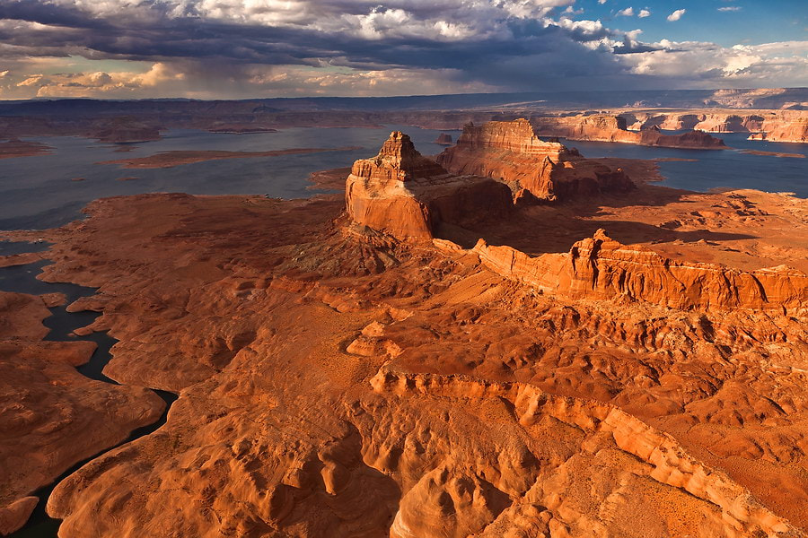 Photograph LAKE POWELL FROM ABOVE... by Gleb Tarro on 500px