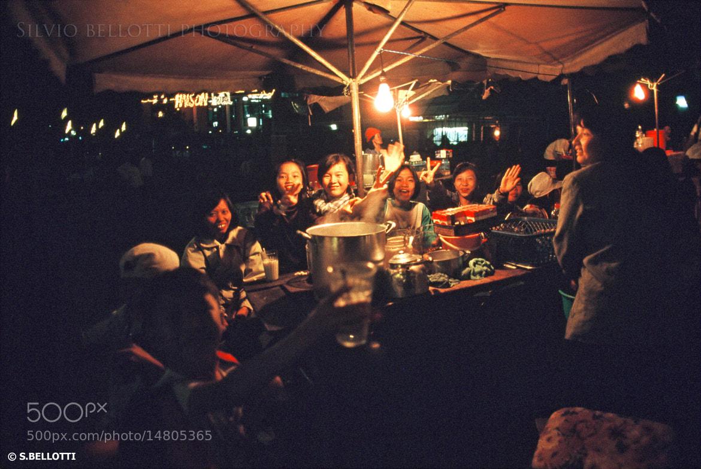 Photograph Night market by silvio bellotti on 500px
