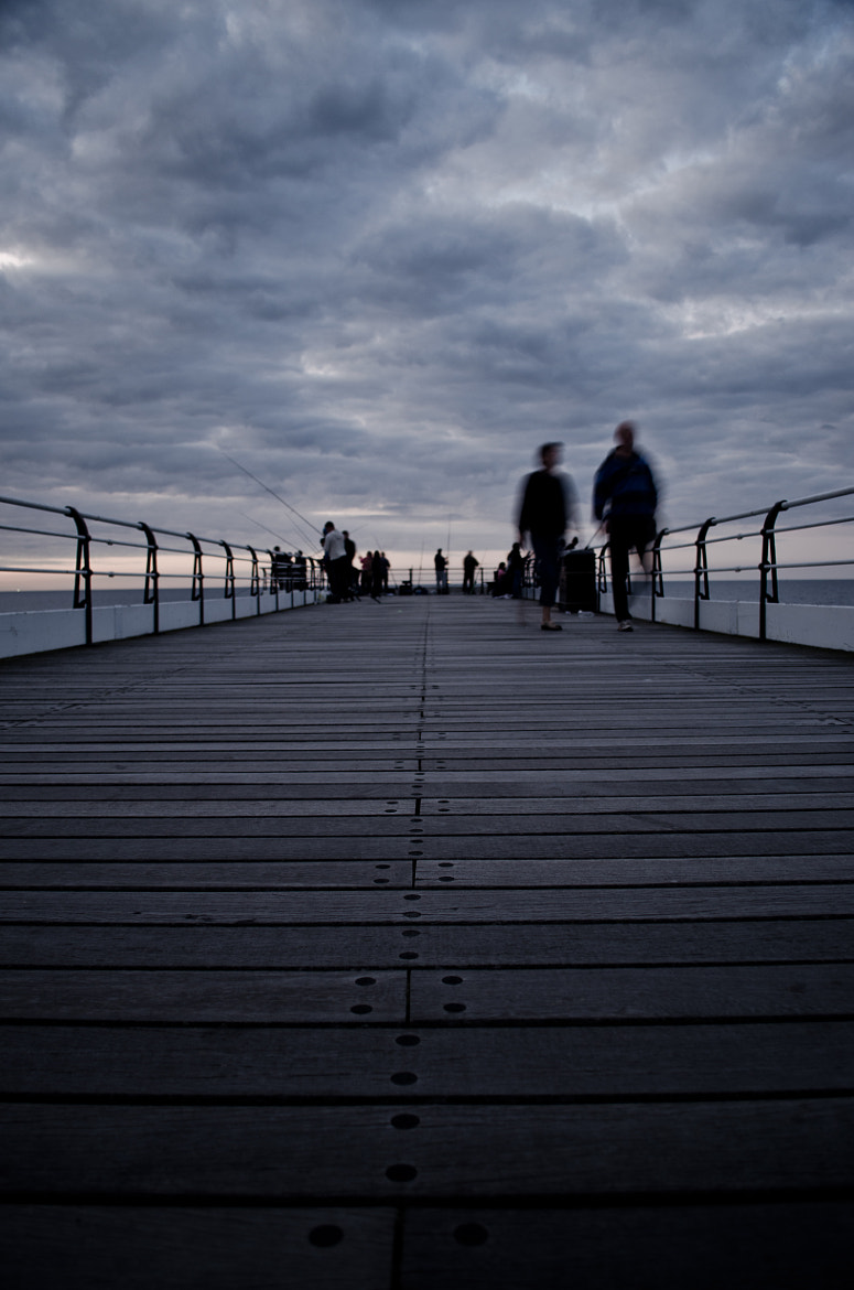 Photograph Ghosts Of Saltburn Pier.  by Marc McQuilling on 500px