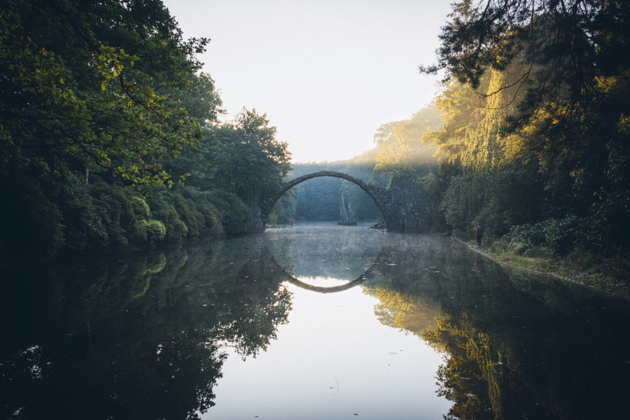 Travel is like building bridges between dreams and reality by Johannes Hulsch on 500px.com