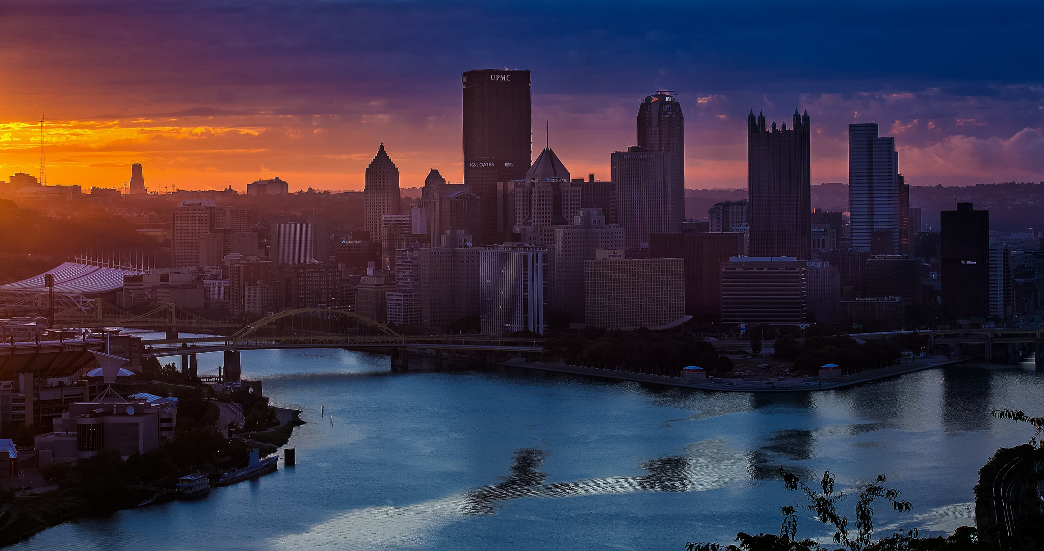 Photograph Pittsburgh Sunrise 2 by Kurt Miller on 500px