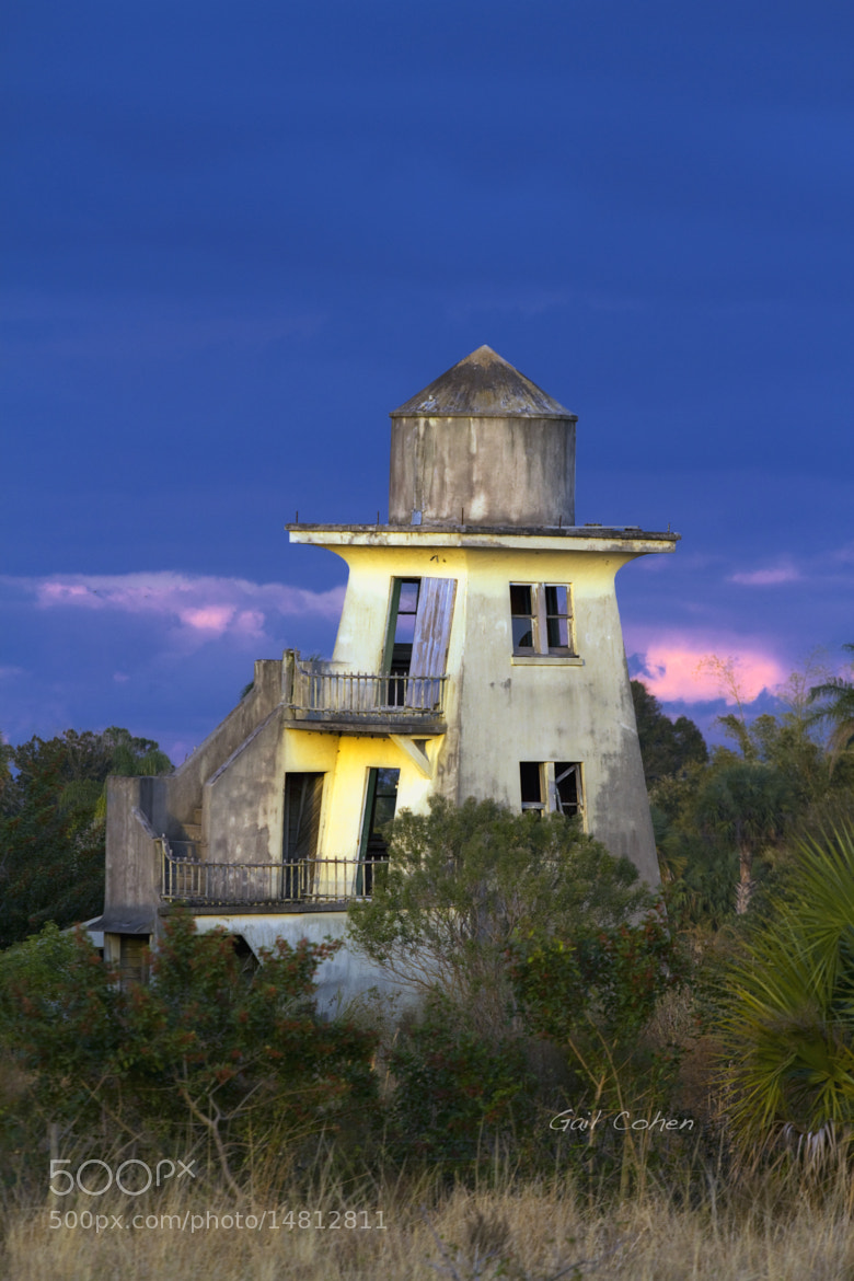 Photograph Abandoned Water Tower by Gail  Cohen on 500px