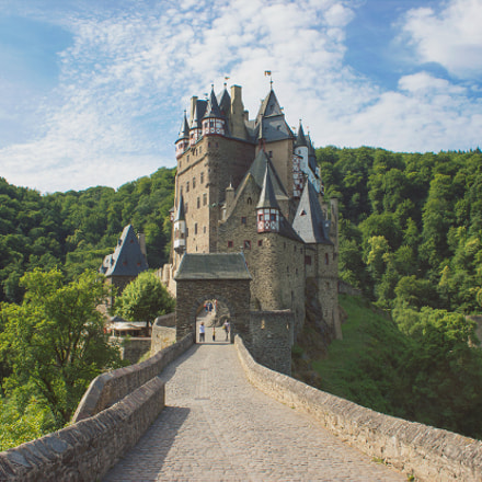 Burg Eltz in rural Germany
