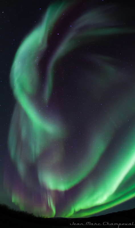 Photograph Northern Light Feb14-2012 8:19PM by Jean-Marc Champeval on 500px