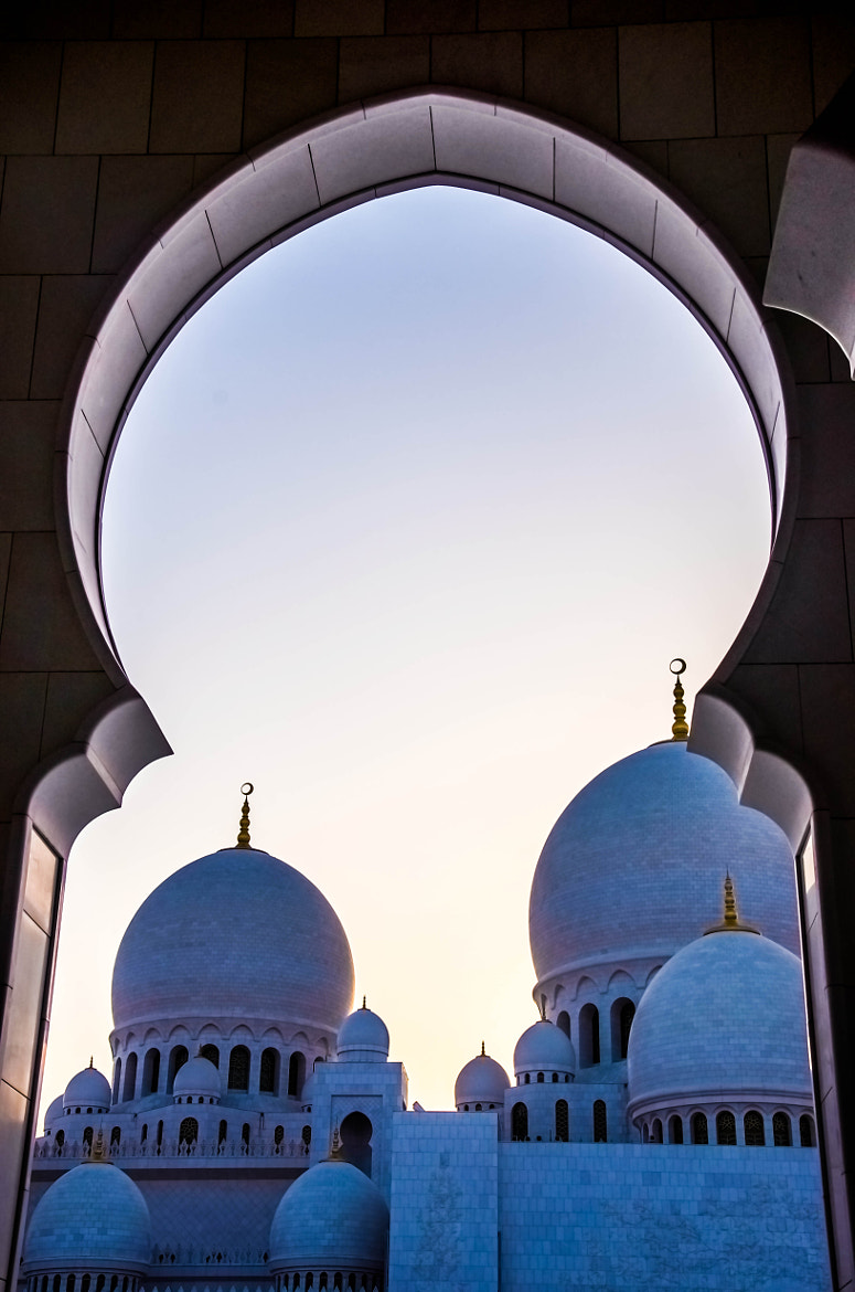 Photograph Domes - The Grand Mosque, Abu Dhabi by julian john on 500px