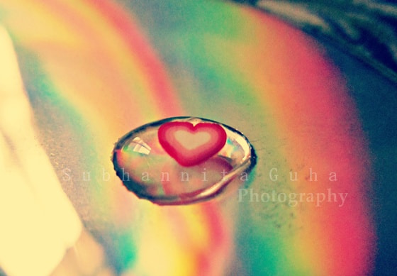 Photograph One drop of love :) by Subhannita Guha on 500px