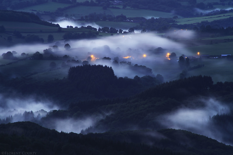 Photograph Creeping Mist by Florent Courty on 500px