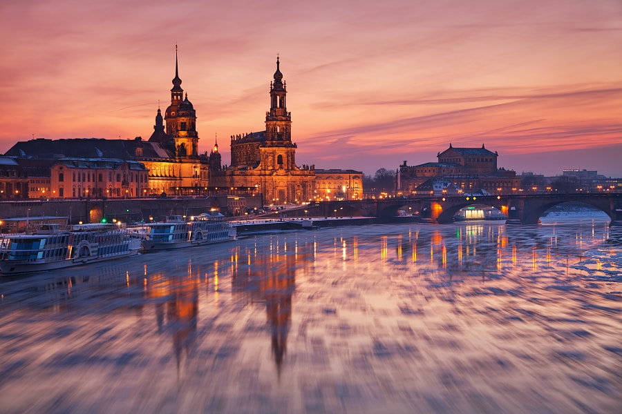 Photograph Ice in Dresden IV by Daniel Řeřicha on 500px