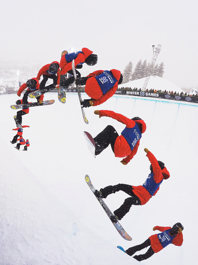 Cae Xuetong at the Winter X-Games