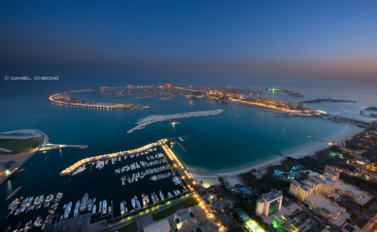 Photograph Palm Jumeirah Blues by Daniel Cheong on 500px