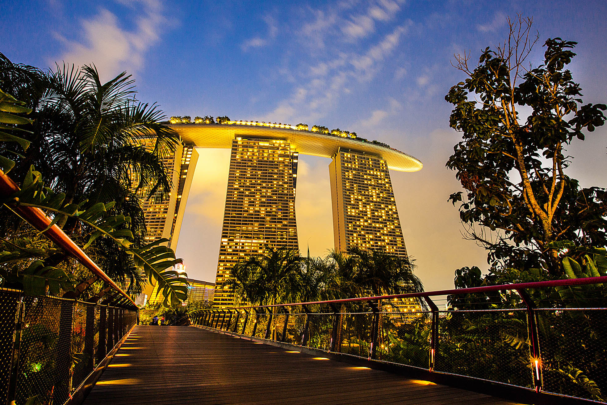 Photograph Golden MBS by Stephen Liono on 500px