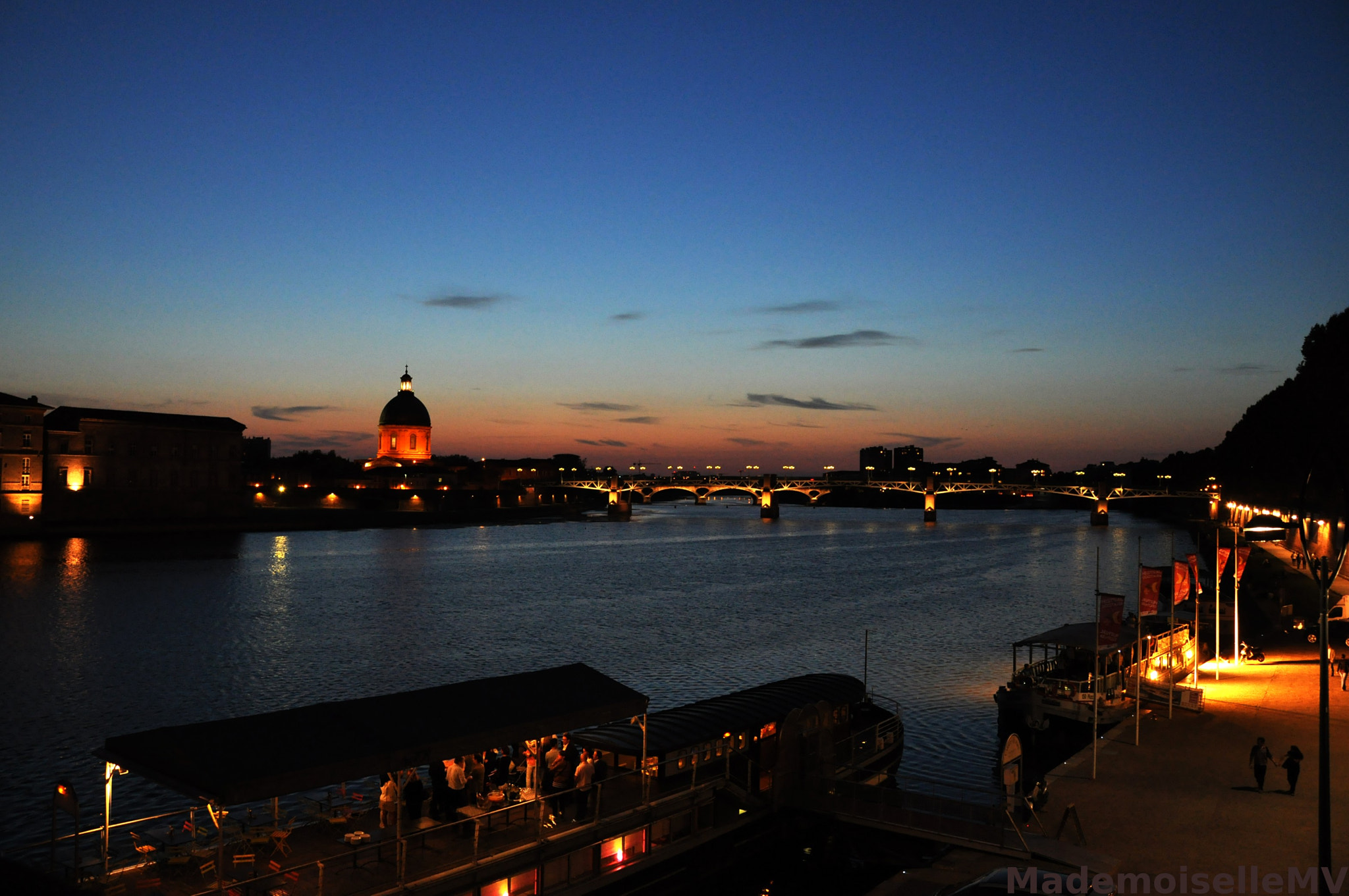 Photograph Evening by the Garonne by Mademoiselle MV on 500px