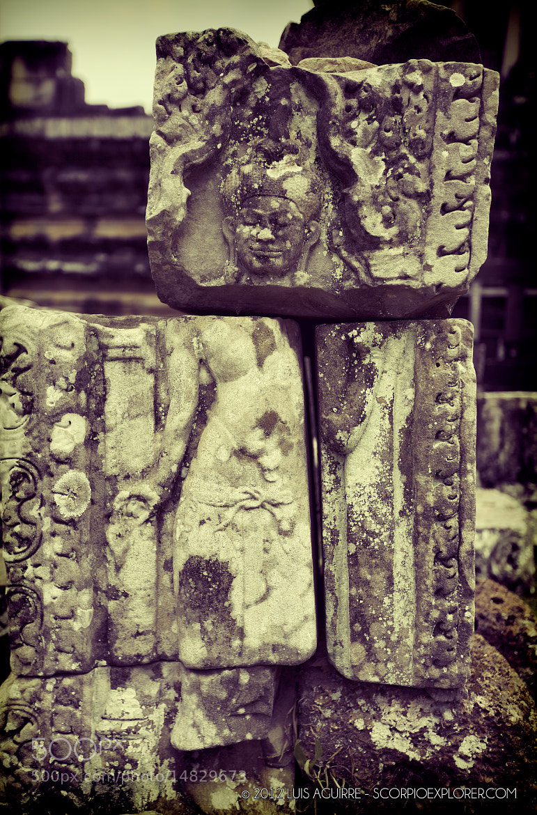 Photograph Detail in the Angkor Ruins by Luis Aguirre on 500px