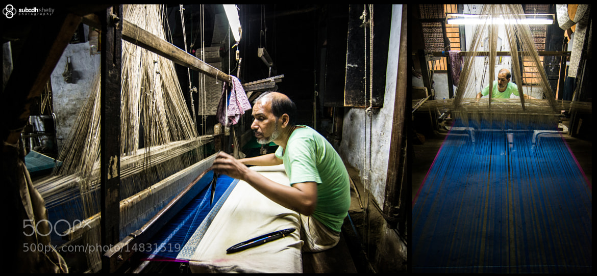 Photograph Making of 'Banaras Saree'  by Subodh Shetty on 500px
