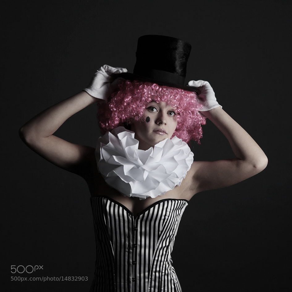 Photograph clown by Miss_Nienett on 500px