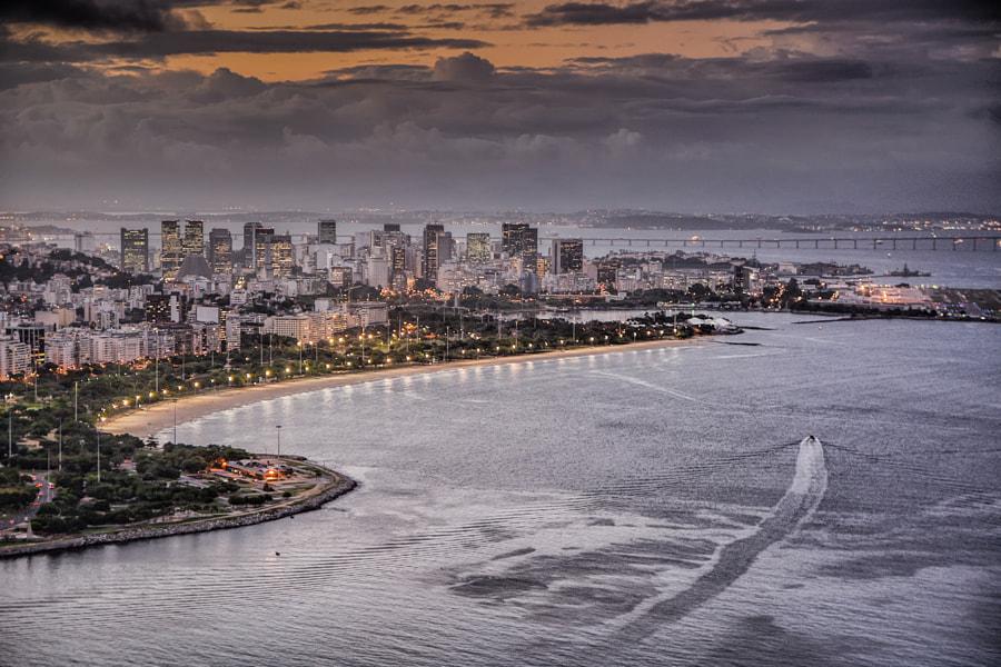 View from Morro da Urca - Sugarloaf, Rio de Janeiro